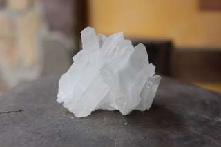 White Quartz Crystal Cluster