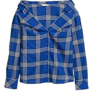 H&M off shoulder shirt