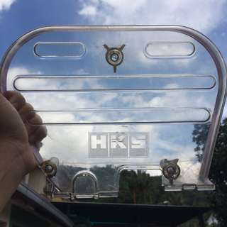 HKS Transparent Timing Belt Cover