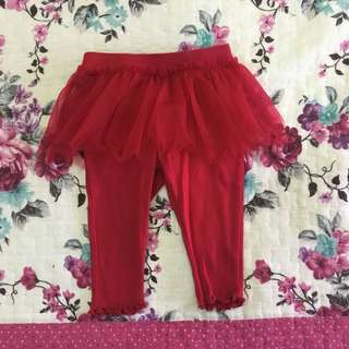 Guess Baby Dark Red pants (1yo)