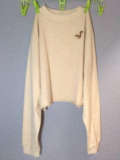 Korean Crop-Top Sweater