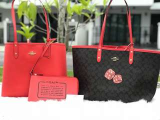 Coach Reversible with Dice Motif