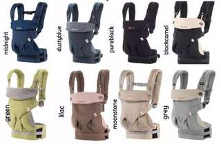 Ergo baby four position 360 baby carrier