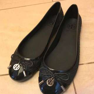 100%new & real Tory Burch Jelly Ballet Flats Shoes