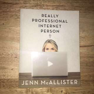 Really Professional Internet Person by Jenn McAllister