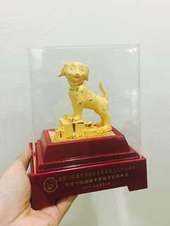 Golden Dog Display Set