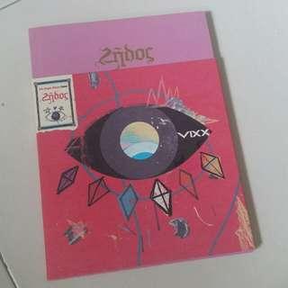 VIXX 5th Single Album Zelos