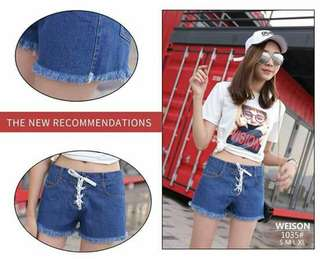 LADIES DENIM SHORT