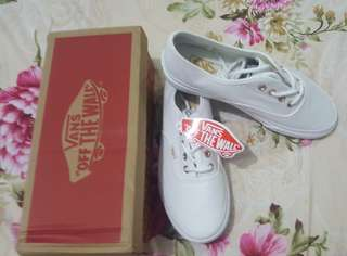 Vans White For Ladies