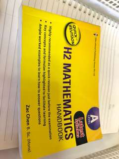 A level H2 Math Handbook Quick revision