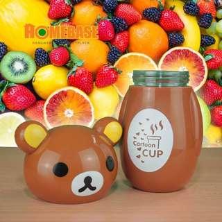 HOMEbase Cute Cartoon Tumbler - 300mL *Bear