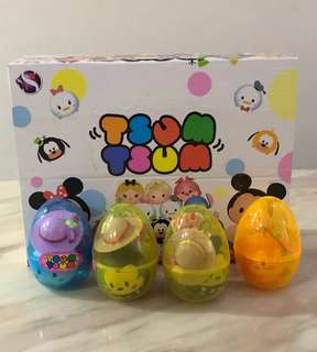 Toddlers girls tsum tsum surprise egg- goody bag, preschool party goodies favors