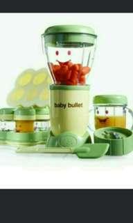 Baby bullet blender set