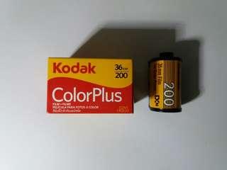 (roll film) Kodak ColorPlus KCP 200