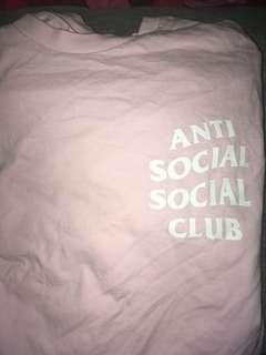 Anti social social club T