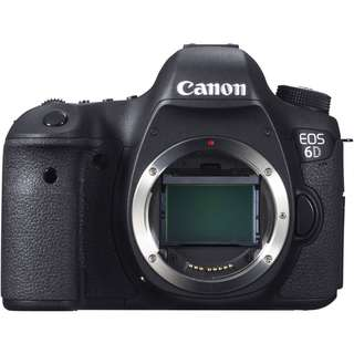 Canon EOS 6D DSLR Camera (Body Only)