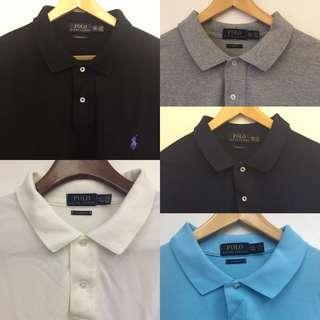 Ralph Lauren Polo Shirts Bundle