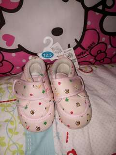 Japan surplus baby pink shoes