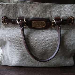 Michael Kors Hamilton Large Canvass Bag