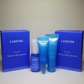 Laneige Water Bank Moisture Kit