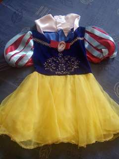 Preloved Snow White Costume/ Dress