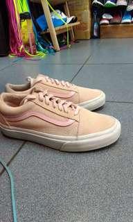 🚚 Vans old skool pink 麂皮