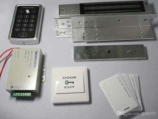 Access door keypad touch