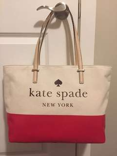 Authentic Kate Spade Tote Canvass