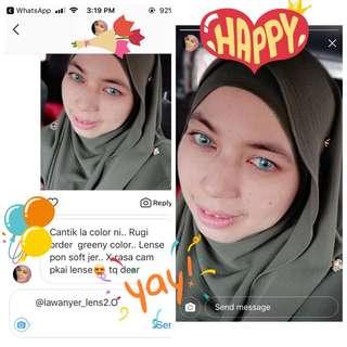 Feedback customer on instagram