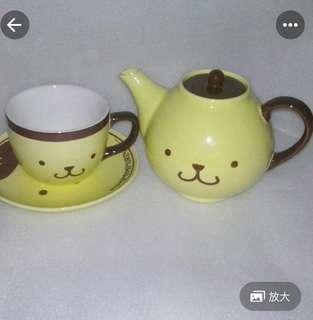 絕版布甸狗杯茶㚃set