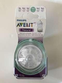 Avent Natural Teats 3m+