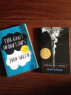2 for 400 php (John Green books)