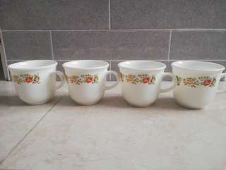 Ceramic Cup flower design