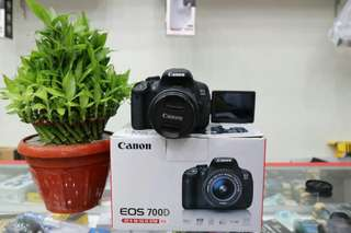 Camera canon EOS 700D bisa cicil 0%