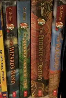 Collection of Geronimo Stilton Books