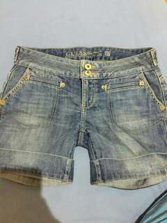 Preloved Authentic Guess Shorts