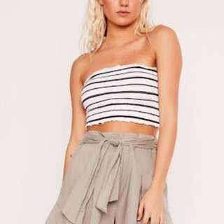 NEW GLASSONS TUBE TOP