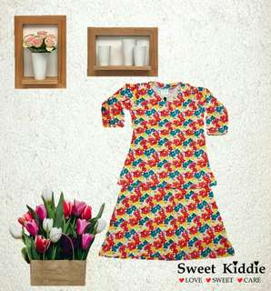 Humaira kids ( baju kurung baby) - Kod HP 02  Size :  M (1-2 yrs) XL (4 yrs)
