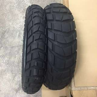 Metzeler Karoo 3. BMW R1200 GS/GSA from 2013 To current model. Never been patch before and tires YOM 2016