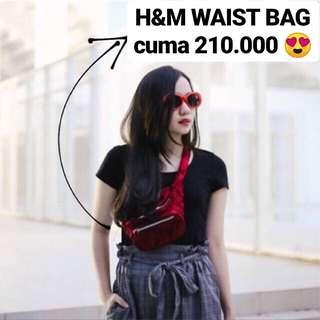 H&M WAIST BAG TAS H&M TAS PINGGANG BELT BAG