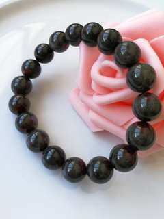 $58 Fixed Sales 11.5mm Natural Auralite 23 Beaded Bracelet