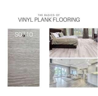 Vinyl Plank Flooring 0710 - 36SQft(24pcs)