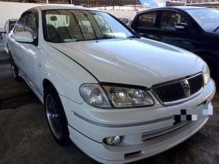 2003 Nissan Sentra 1.8auto