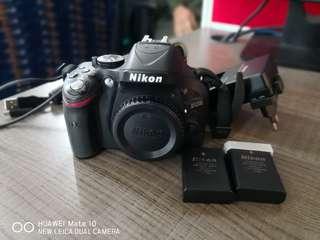 Nikon D5200 Body & YN560 IV Speedlite