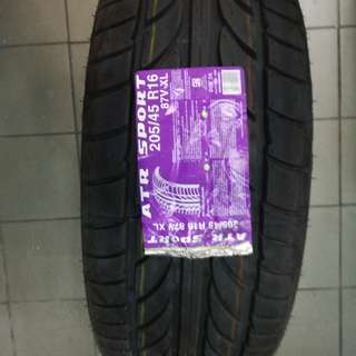 16 INCH ACHILLES TYRE