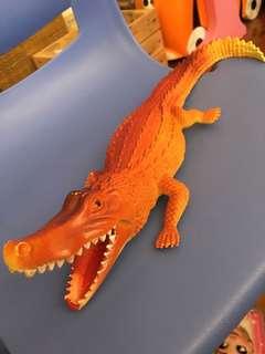 Rubber crocodile