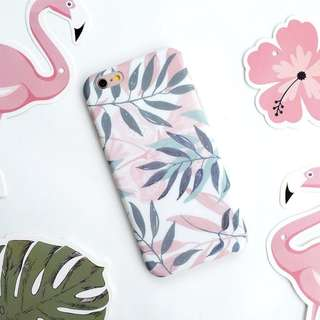 Tropical Pink iPhone Case