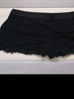 Authentic Topshop Lace Shorts