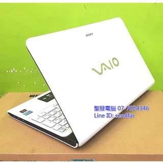 大螢幕高效獨顯 SONY SVE15128CWW i5-3210M 4G 500G 獨顯 DVD15吋筆電 聖發二手筆電
