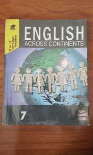 Grade 7 - English Across Continents